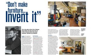 Marc Fish articles in Furniture & Cabinetmaking Magazine