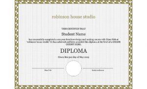 student's diploma