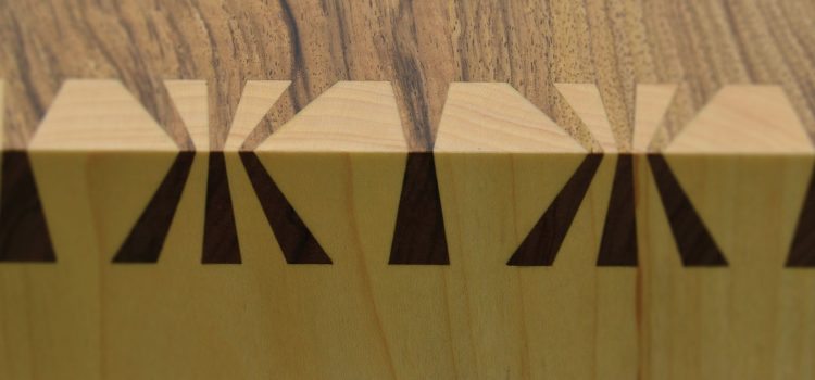Senior Tutor Theo Cook's Amazing Japanese Sunrise Dovetail Joint
