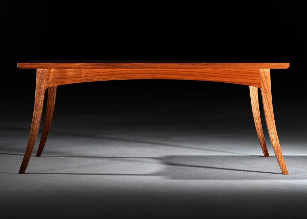 Luke Olney table made at Marc Fish's studio.