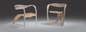 Marc Fish ethereal lounge chairs