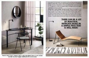 Christian Watson featured in Elle Deco, July 2021